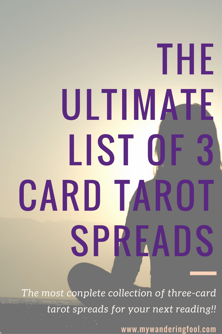 Three Card Spreads The Ultimate List Of Three Card Spread